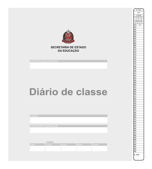 Diário De Classe Bimestral São Domingos Pacote 10 Unidades
