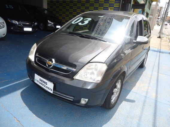 Gm Meriva Cd 2003 1.8 Gasolina Cinza
