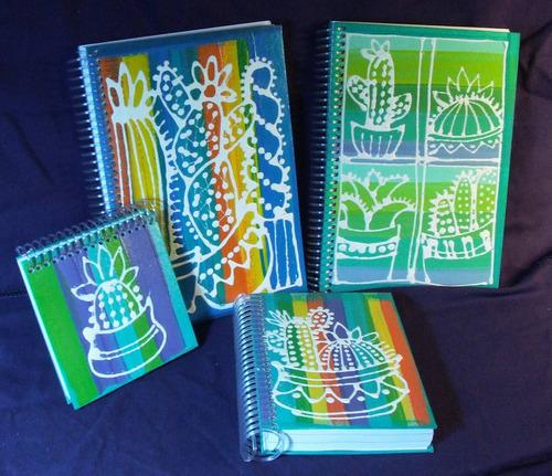 Cuadernos Artesanales,(15) Diseños Únicos!
