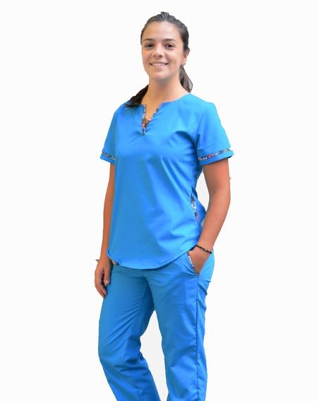 Ambos Medicos Azul Fr Clarito De Diseño Uniforme Sanidad Vr