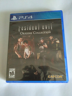 Resident Evil Origins Collection Ps4 Nuevo Sellado