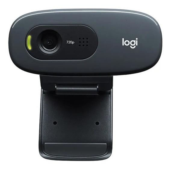 Webcam Logitech C270 Nova Pronta Entrega