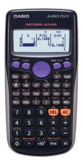 Calculadora Científica Casio Fx-82es Plus - 252 Funções