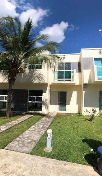 Casa Semiamueblada En Playa Del Carmen Cerca De Escuelas