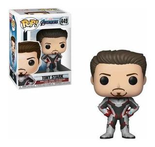 Funko Pop #449 Tony Stark Avengers Endgame