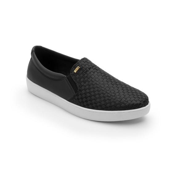 Sneaker Flexi Dama 33516 Negro