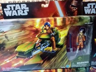 Ezra Bridger Speeder Star Wars Rebels Disney Hasbro Jedi