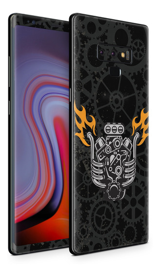 Skin V8 Engine Para Telefonos Samsung Galaxy
