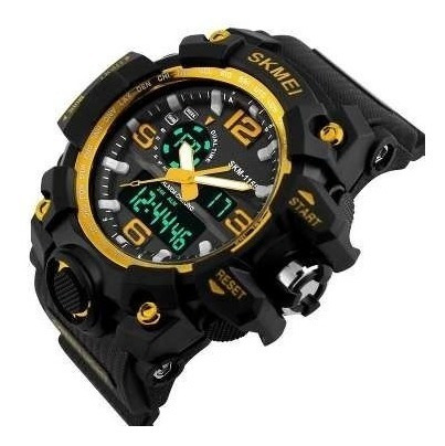 Relógios Militar Skmei Sshock Analógico Digital Prova D