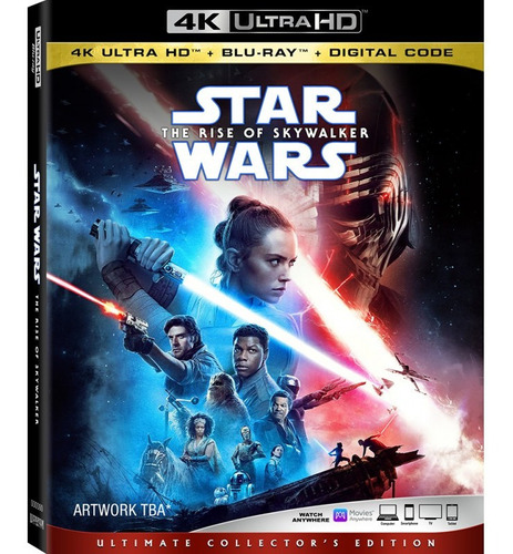 Imagen 1 de 3 de Star Wars: The Rise Of Skywalker 4k