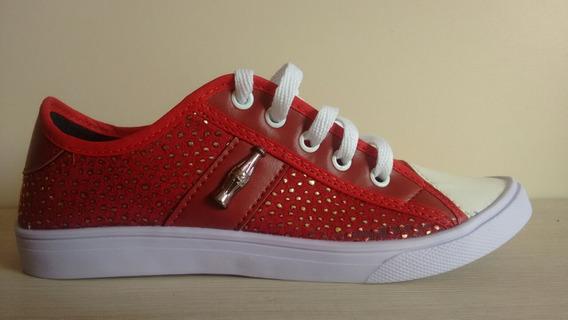 Sapato Feminino Coca Cola Cores