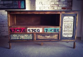 Mueble Rack Vintage Industrial Envío Bonificado