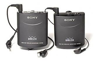 Microfone De Lapela Sem Fio Sony Wcs-999 Para Câmera
