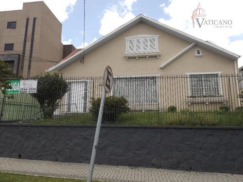 Casa  Para Locação 421 M² Por R$ 2.800/mês - Rebouças - Curitiba/pr - Ca0066