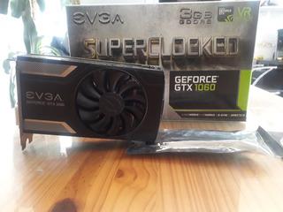 Evga Nvidia Gtx 1060 3gb Superclocked
