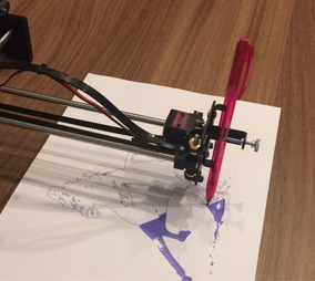 Impressora Assembled Xy Plotter