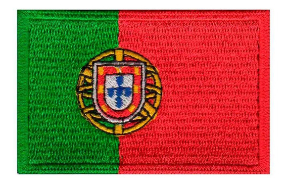 Bordado Patch Termocolante - Bandeira De Portugal - Bd50071