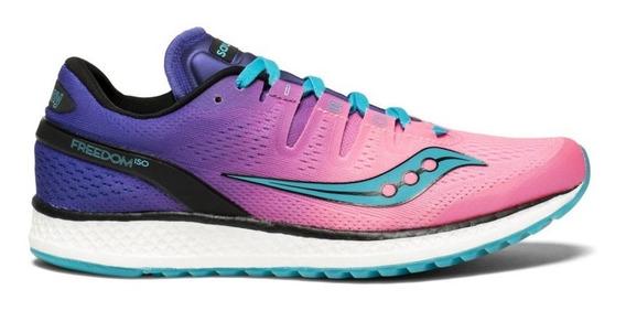 Zapatillas Running Saucony Freedom Iso - Mujer
