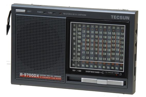 Rádio Receptor Tecsun R-9700dx Am Fm Stéreo Sw Multibanda