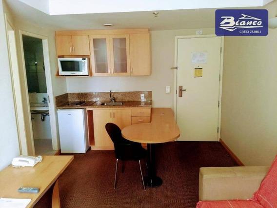 Flat Com 1 Dormitório À Venda, 40 M² Por R$ 175.000 - Centro - Guarulhos/sp - Fl0007