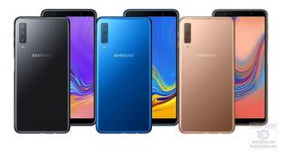 Samsung Galaxy A7 (2018) Triple Cam, Liberados, 4ram+64 Gb