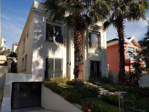 Casa Com 4 Suítes À Venda, 600 M² No Residencial 18 Do Forte  Em Alphaville - Santana De Parnaíba/sp - Ca0051