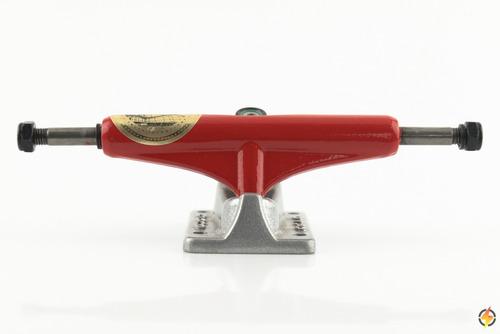 Truck Cisco 129mm Vermelho E Cinza  Ref:001455
