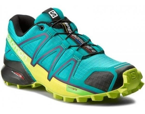Tênis Salomon Original Speedcross 4 Feminino Verde
