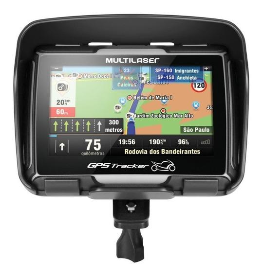 Gps Moto Tela 4.3 Prova Agua Bluetooth Radar+pendrive Brinde