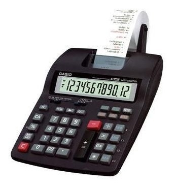 Calculadora Com Impresão Casio Reprint & Check Hr-150rc