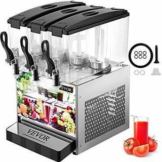 Vevor Dispensador Comercial Bebidas Frias 12 L X 3
