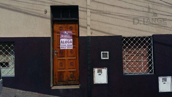 Apartamento Com 1 Dormitório Para Alugar, 55 M² Por R$ 750,00/mês - Vila Industrial - Campinas/sp - Ap10427