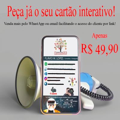Cartão Digital Interativo E Consultoria De Marketing Digital