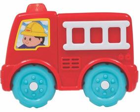 Brinquedos Para Meninos Carrinho Musical Bombeiro Buba 7969