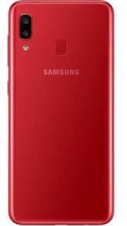 Smartphone Samsung Galaxy A20 32gb Dual Chip Android 9.0 Tela 6.4 Octa-core 4g Câmera Dupla 13mp + 5mp - Vermelho