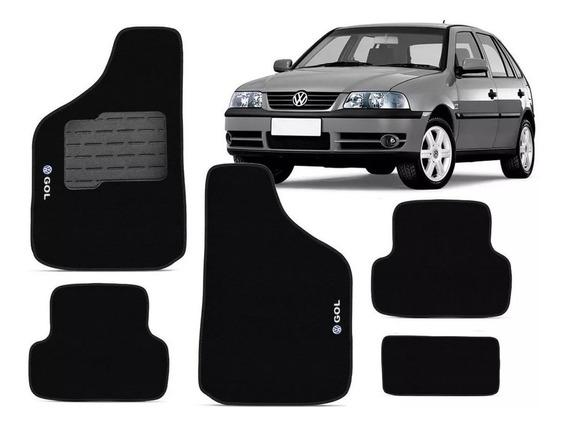 Tapete Automotivo 5 Peças Para Volkswagen Gol G3 2001
