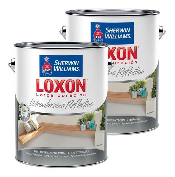 Membrana En Pasta Liquida Sherwin Williams Loxon Ld 25+25 Kg