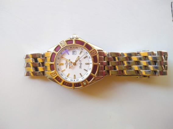 Breitling Lady J D52065 Aço/ouro