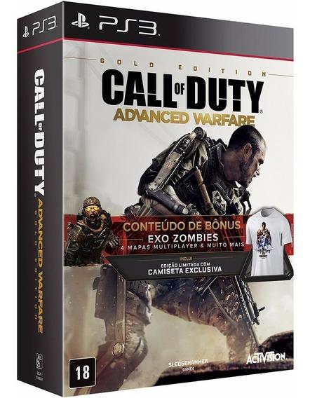 Call Of Duty Advanced Warfare Gold Edition - Ps3 - Lacrado