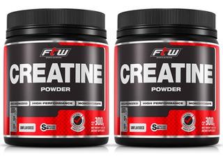 Creatine Powder - 2x 300 Gramas - Fitoway Ftw Val 28/05/2019
