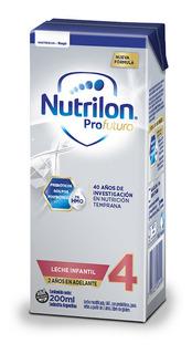 Leche de fórmula líquida Nutricia Bagó Nutrilon Profutura 4 por 30 unidades de 200mL