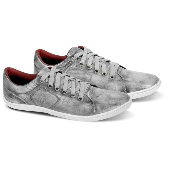 Sapato Sapatenis Casual Masculino Couro Bmbrasil 770/04