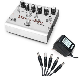 Pedal Arcano True-metall Distortion + Fonte Arc-adp9v