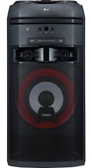 System Lg Torre Xboom Ok55 500w Multi Bluetooth Cd Dj Fm Usb