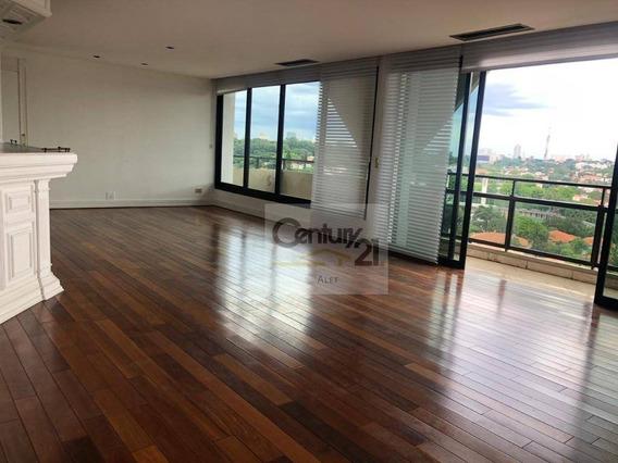 Apartamento Com 4 Dormitórios Para Alugar, 270 M² Por R$ 9.500,00/mês - Higienópolis - São Paulo/sp - Ap2090