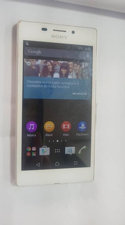 Celular Sony Xperia M2 Aqua D2403 - Branco - Usado