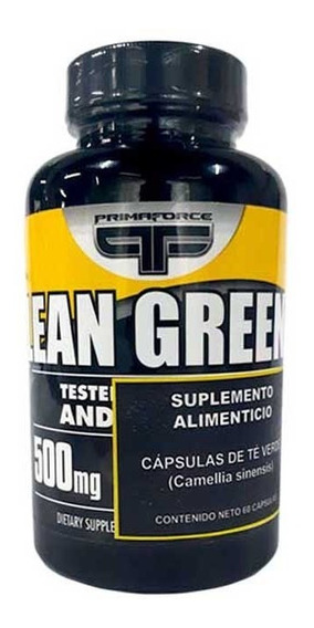 Te Verde Antioxidante Primaforce Lean Green 60 Capsulas