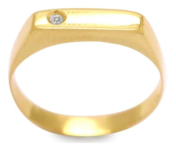 Anel Infantil Em Ouro 18k - Ov/6369