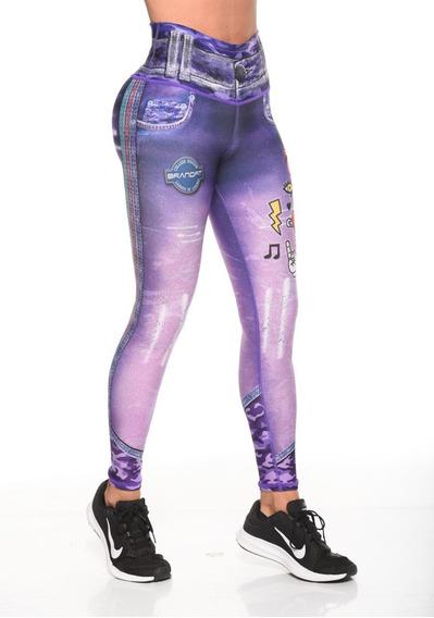 Brandfit Jeans Leggins Legging Lycras Colombianas Fitness