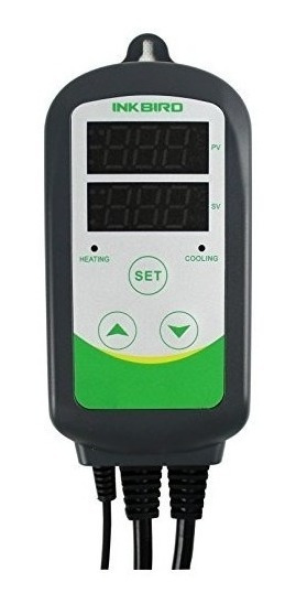 Termómetro De Salida Del Controlador De Temperatura Digital